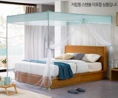 알뜨리 지퍼식 사각 모기장 심플민트(단품)