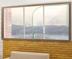 EVA 지퍼식 창문 방풍비닐-투명